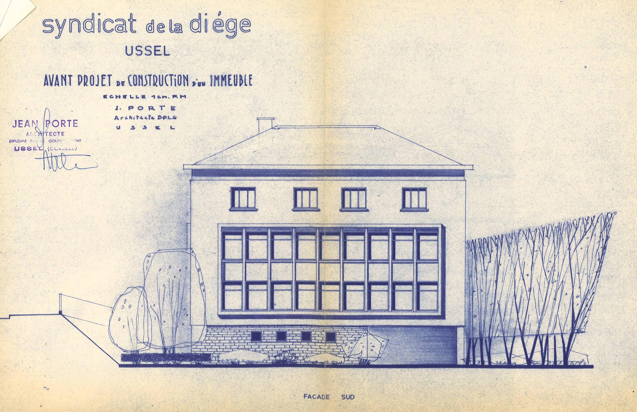 1969 – Installation du siège social dans de nouveaux locaux