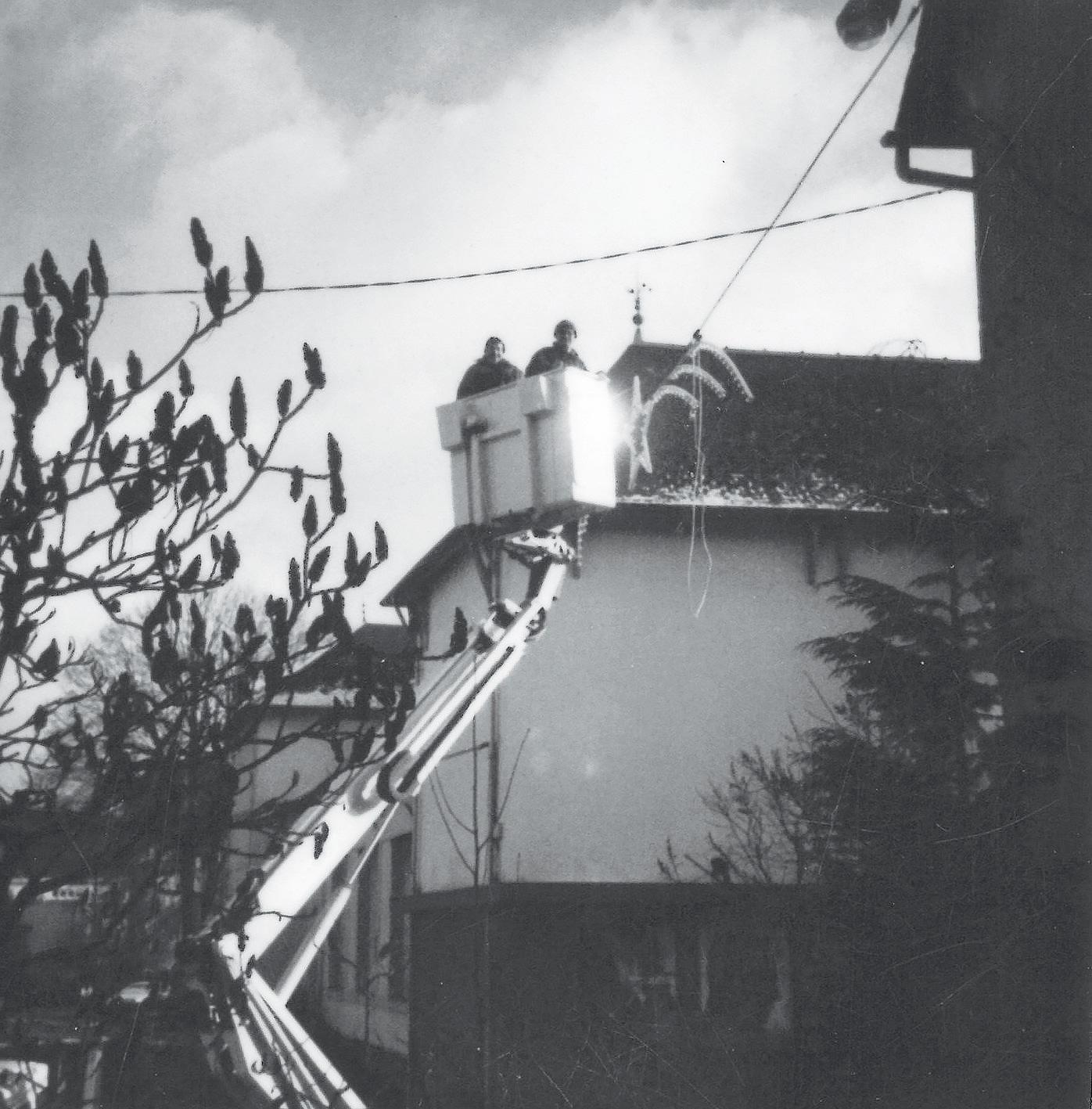 1987 – Création d'une structure d'entretien de l'éclairage public